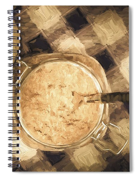 Spoonful Of Sugar Spiral Notebook