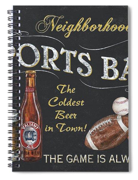 Sports Bar Spiral Notebook