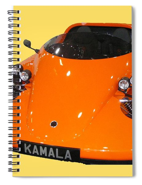 Sports Car Spiral Notebook