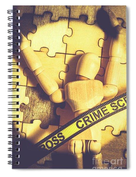 Spotlight On A Judicial Plot Hole Spiral Notebook