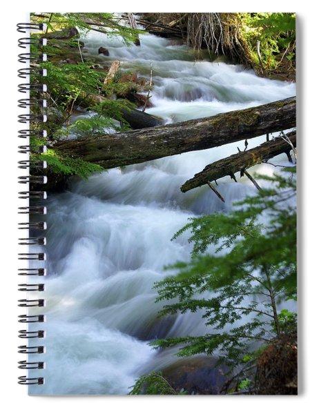 Sprague Creek Glacier National Park Spiral Notebook