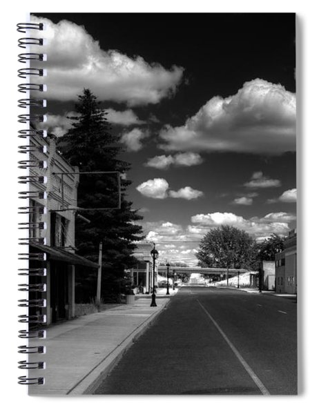 Downtown Sprague Spiral Notebook