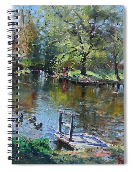 Spring Again Spiral Notebook