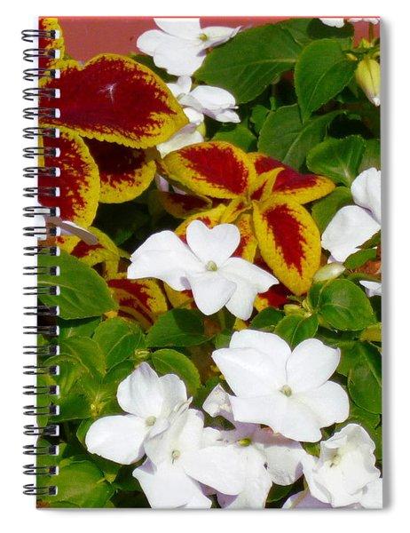 Spring Annuals Spiral Notebook