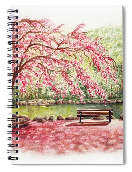Spring At Lithia Park Spiral Notebook