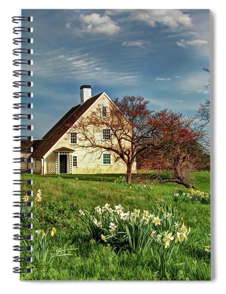Spring At The Paine House Spiral Notebook