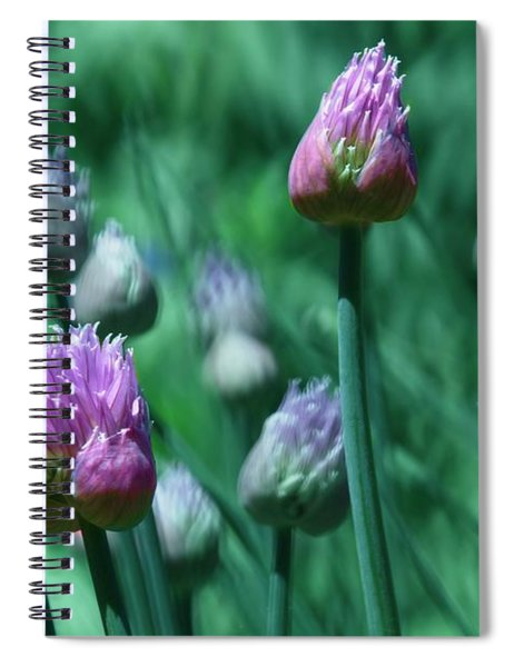 Spring Chives Spiral Notebook