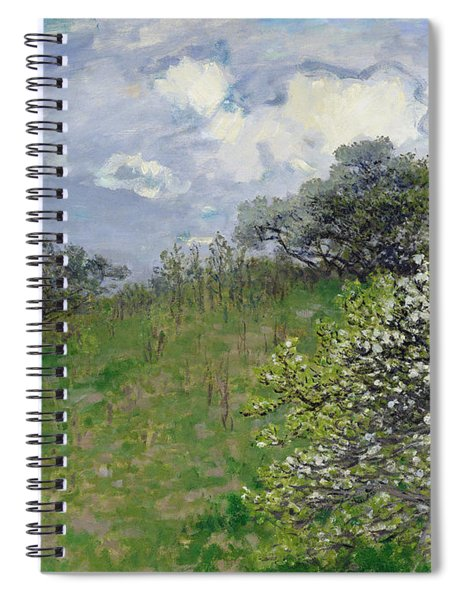 Spring Spiral Notebook