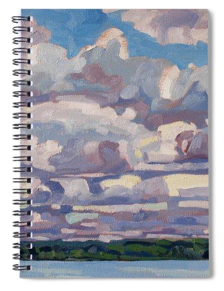 Spring Cumulus Spiral Notebook