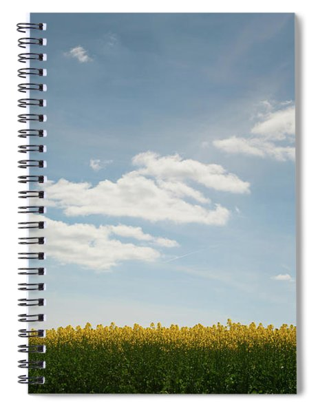 Spring Day Clouds Spiral Notebook