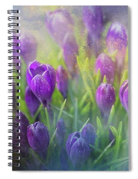 Spring Delight Spiral Notebook