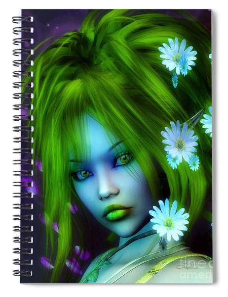 Spring Elf Spiral Notebook
