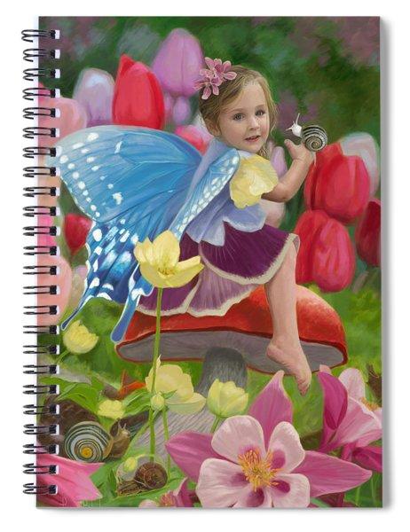 Spring Fairy Spiral Notebook