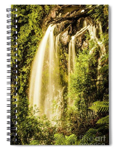 Spring Falls Spiral Notebook