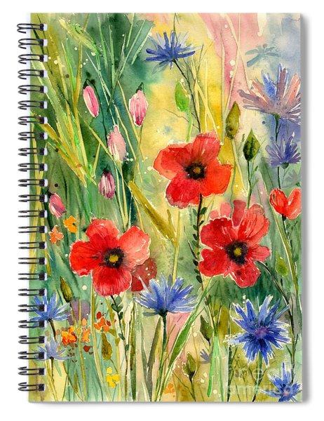 Spring Field Spiral Notebook