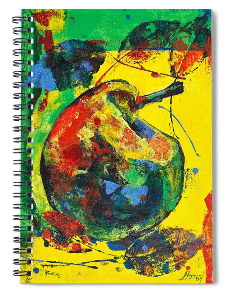 Spring Freshness With Autumn Pear Spiral Notebook