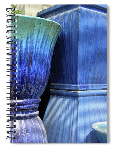 Spring Garden Series Vi Spiral Notebook