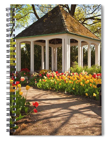 Spring Gazebo Spiral Notebook