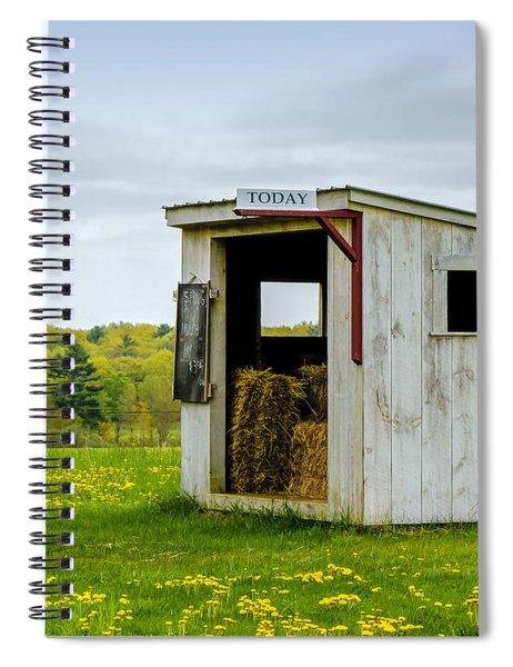 Spring Hay Spiral Notebook