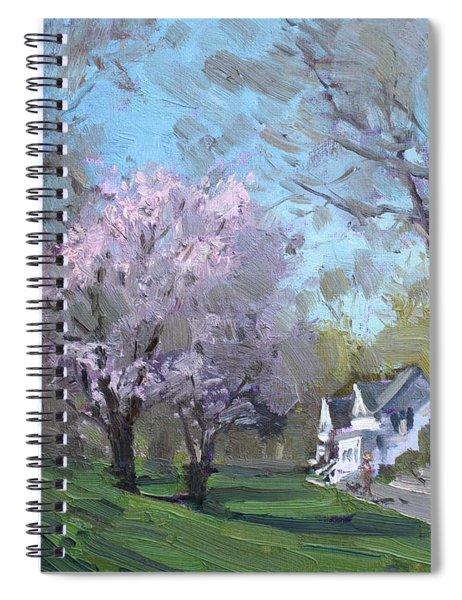 Spring In J C Saddington Park Spiral Notebook