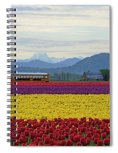 Spring In Skagit Valley Spiral Notebook