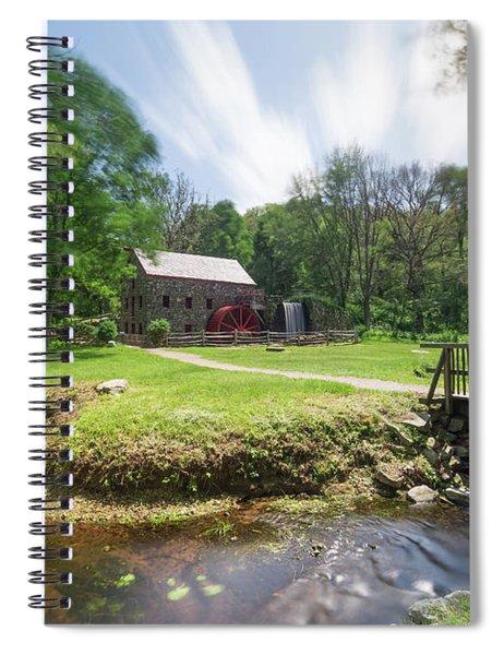Spring In Sudbury Spiral Notebook
