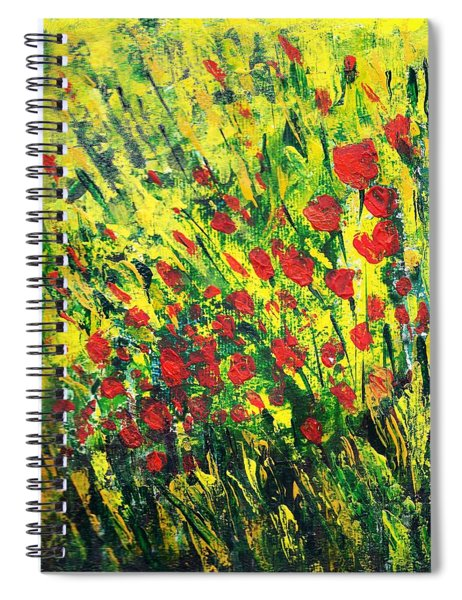 Spring In The Air Spiral Notebook