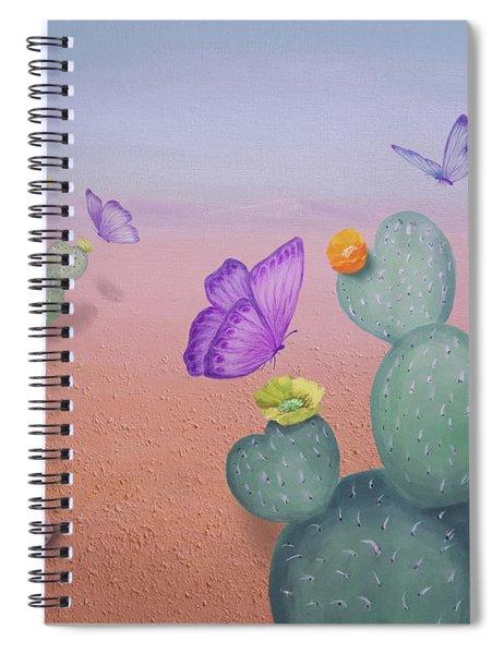 Spring In The Desert   Spiral Notebook