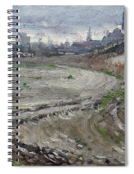 Spring In The Farm Spiral Notebook