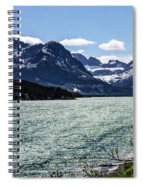 Many Glacier Spiral Notebook