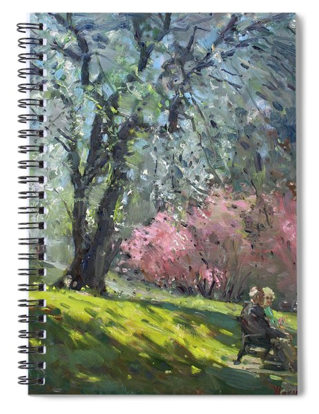 Spring In The Park Spiral Notebook