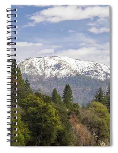 Spring In The Plumas National Forest Spiral Notebook