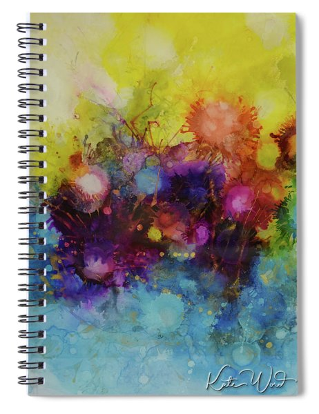Spring Into Summer Spiral Notebook