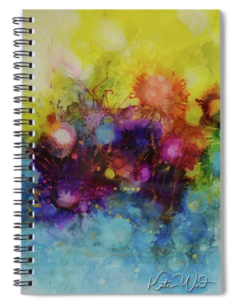 Spring Into Summer Spiral Notebook by Kate Word