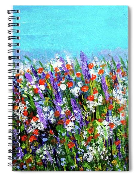 Spring Meadow Spiral Notebook