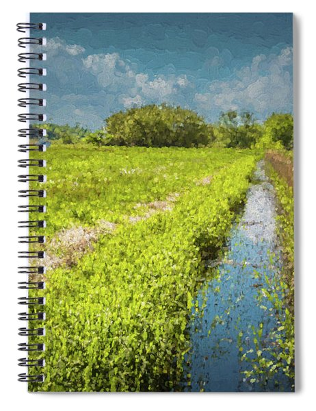 Spring Meadows Spiral Notebook