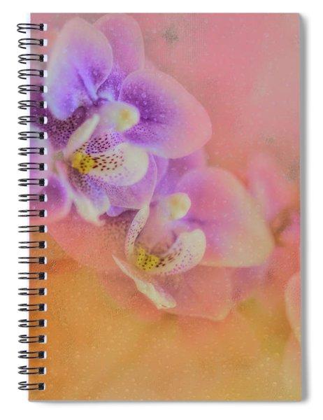Spring Orchids Spiral Notebook