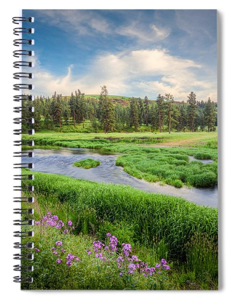 Spring River Valley Spiral Notebook