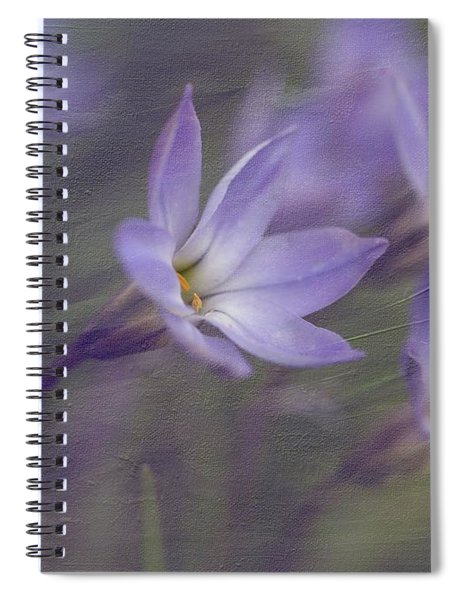 Spring Starflower Spiral Notebook