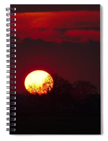 Spring Sunset Spiral Notebook