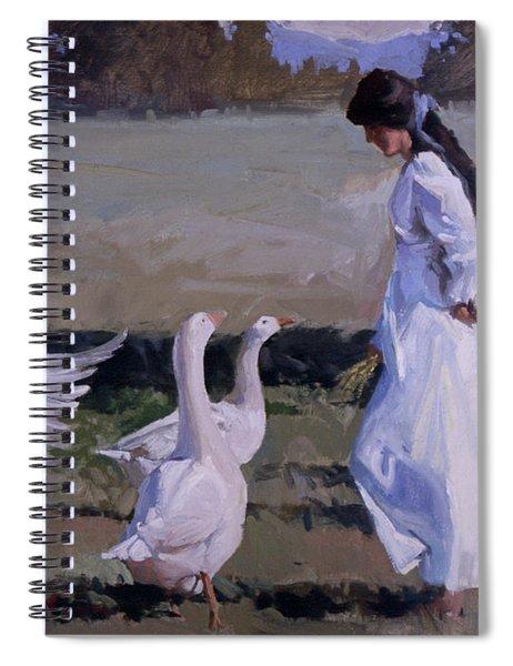 Spring Temptress Spiral Notebook