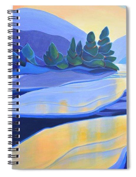 Spring Thaw Spiral Notebook