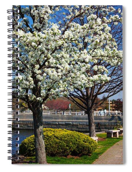 Spring Time In Westport Spiral Notebook