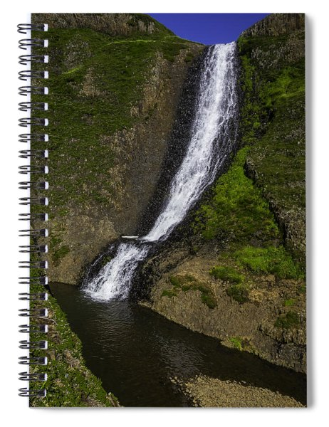Spring Time Waterfall Spiral Notebook