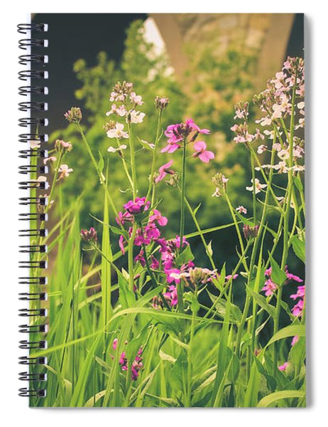 Spring Under The Arches Spiral Notebook