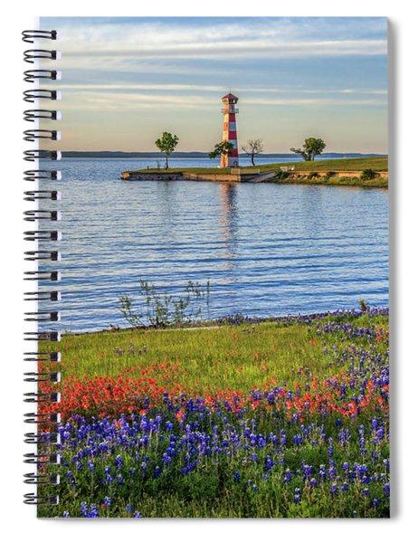 Spring Wildflowers Of Lake Buchanan Spiral Notebook