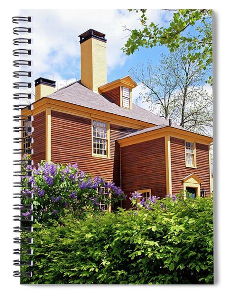Springtime At Folsom Tavern Spiral Notebook