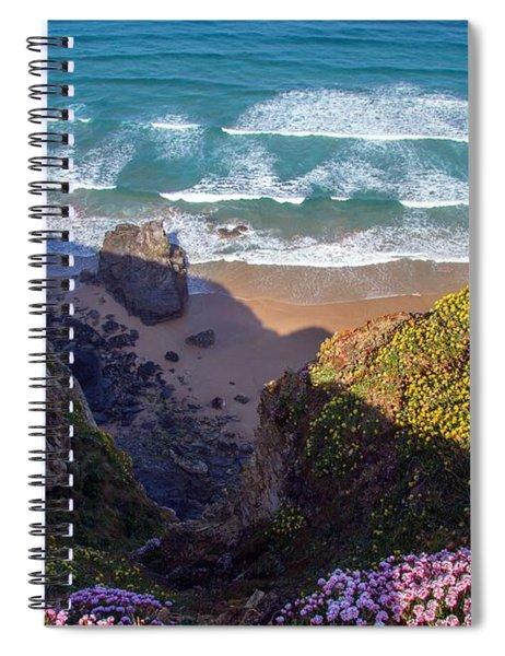 Springtime In Cornwall Spiral Notebook