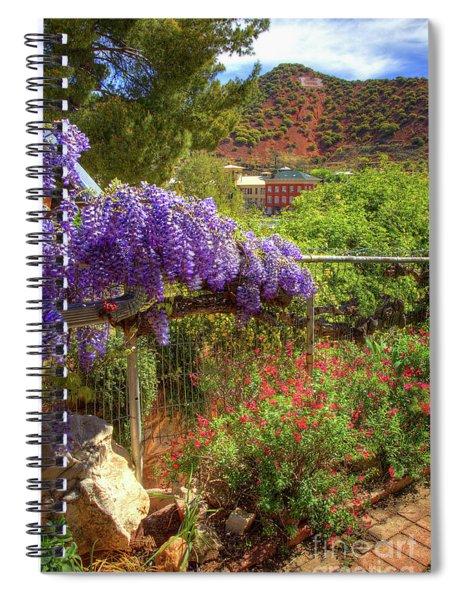 Springtime In Old Bisbee Arizona Spiral Notebook