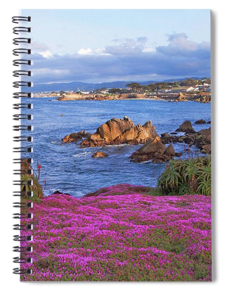 Springtime In Pacific Grove Spiral Notebook